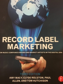 Recording Label Marketing book