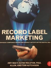 Recording Label Marketing book