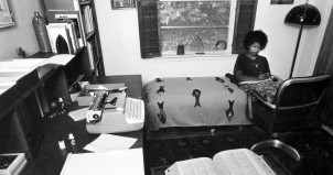 Alice Walker in her home