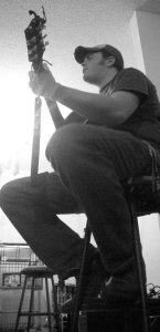 Ben Briley with guitar