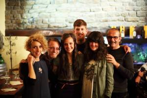 The documentary star and crew (left to right): Silvia Logi, Scotty Wright, Jaclyn Edmonson, Kyle Bates, Kati Baird and Nicola Vannini.