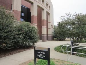Bragg Mass Comm Building at MTSU