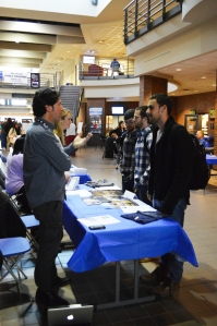 Compass Records at Career Fair 2014