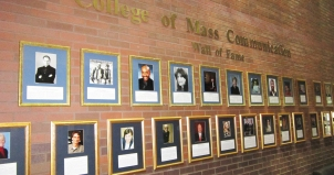 Mass Comm Wall of Fame
