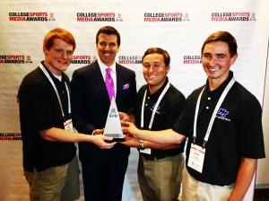 EMC sports award 2014