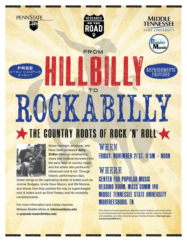 Hillbilly to Rockabilly poster