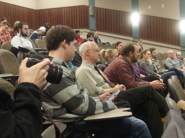 An audience of 75 students, faculty and members of the community gathered to hear Barry Mazor's talk on Ralph Peer and his contribution to the modern day music industry.
