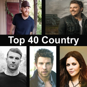 Clockwise, from top left, former MTSU students Eric Paslay, Chris Young, Hillary Scott of Lady Antebellum, Brett Eldredge and Sam Hunt were all recently represented on national country music charts for radio airplay.