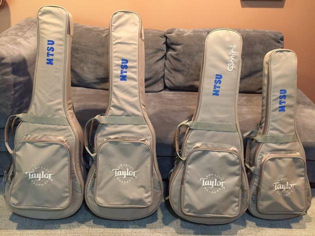MTSU guitars