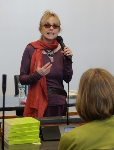 Author Rebecca Wells brings her works to an MTSU audience.
