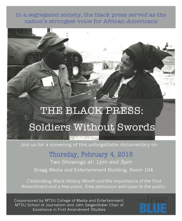Black press poster