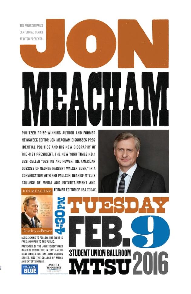 Jon Meacham Poster