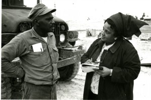 Payne with soldier in Viet Nam