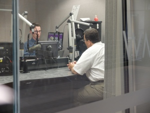 "Senior Matthew Boyd said he was ""thrilled"" to interview HBO exec Kary Antholis for his WMTS 88.3 radio show."