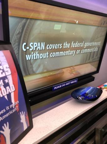 C-SPAN screen