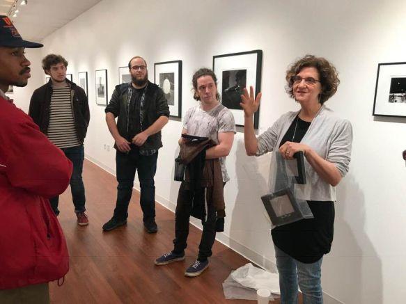 Feinstein in gallery 2019